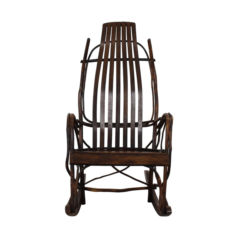 Amish Wood Rocking Chair sale