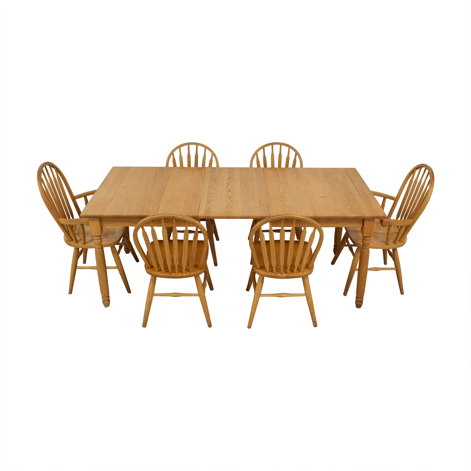 buy Dinaire Extendable Oak Farm Dining Set Dinaire Dining Sets