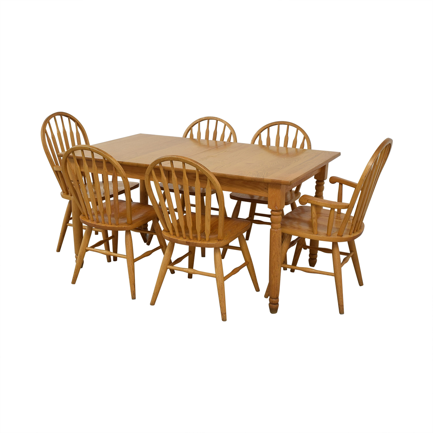 shop Dinaire Extendable Oak Farm Dining Set Dinaire Dining Sets