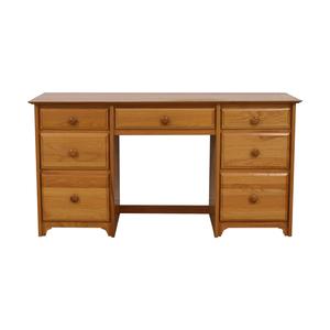 shop  Seven-Drawer Wood Desk online