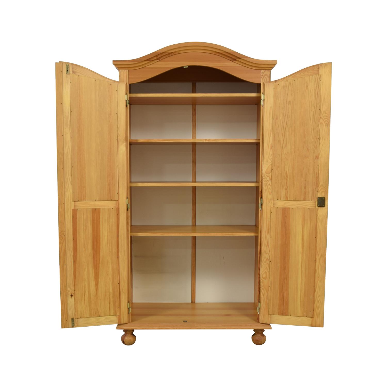 shop The Door Store Wood Wardrobe Armoire The Door Store