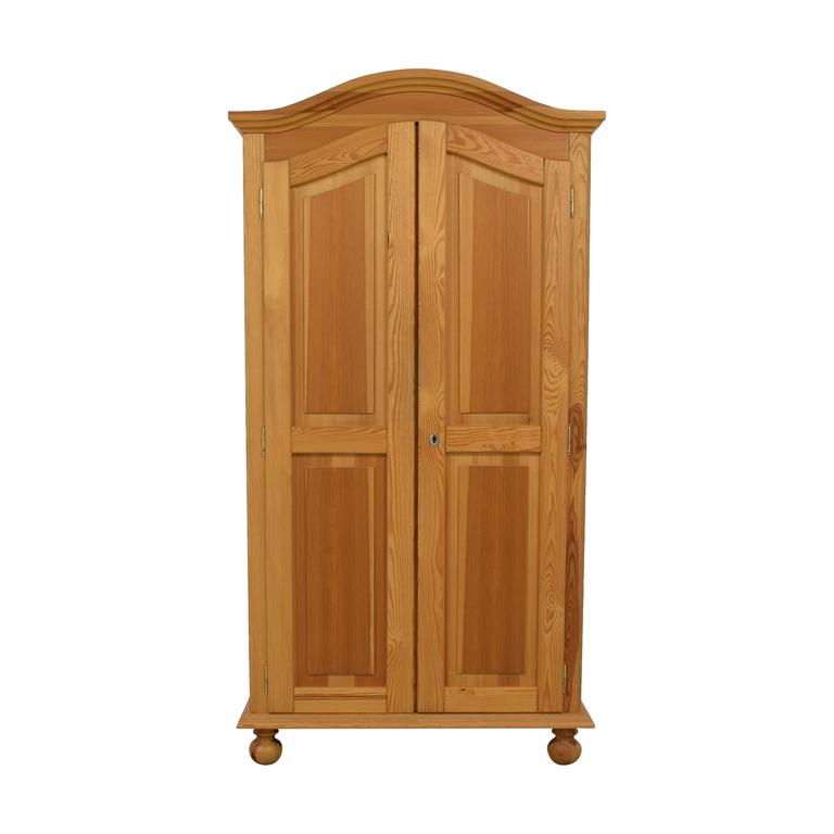 The Door Store The Door Store Wood Wardrobe Armoire Storage
