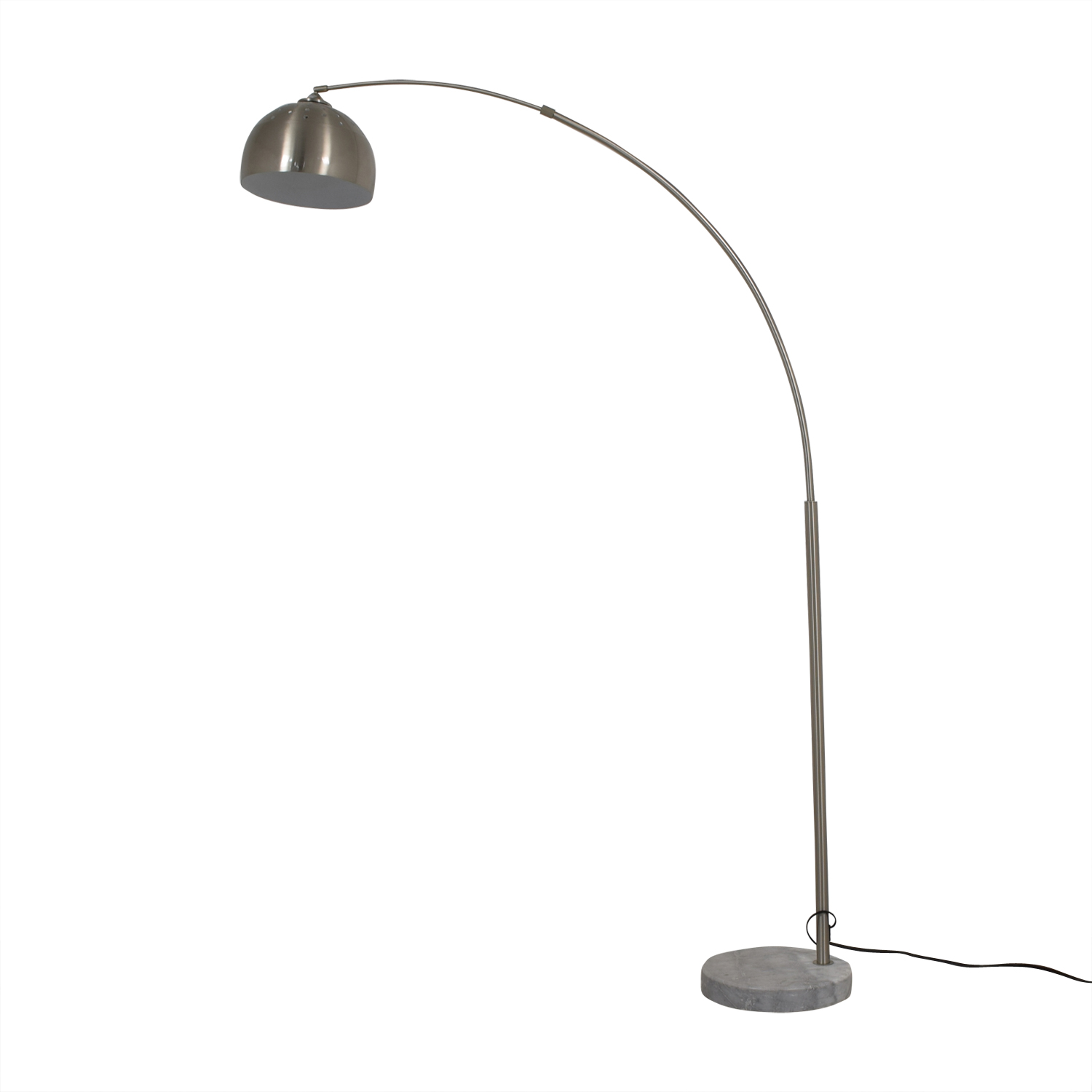 shop Coaster Home Furnishings Arched Chrome Floor Lamp Coaster Home Furnishings Sofas