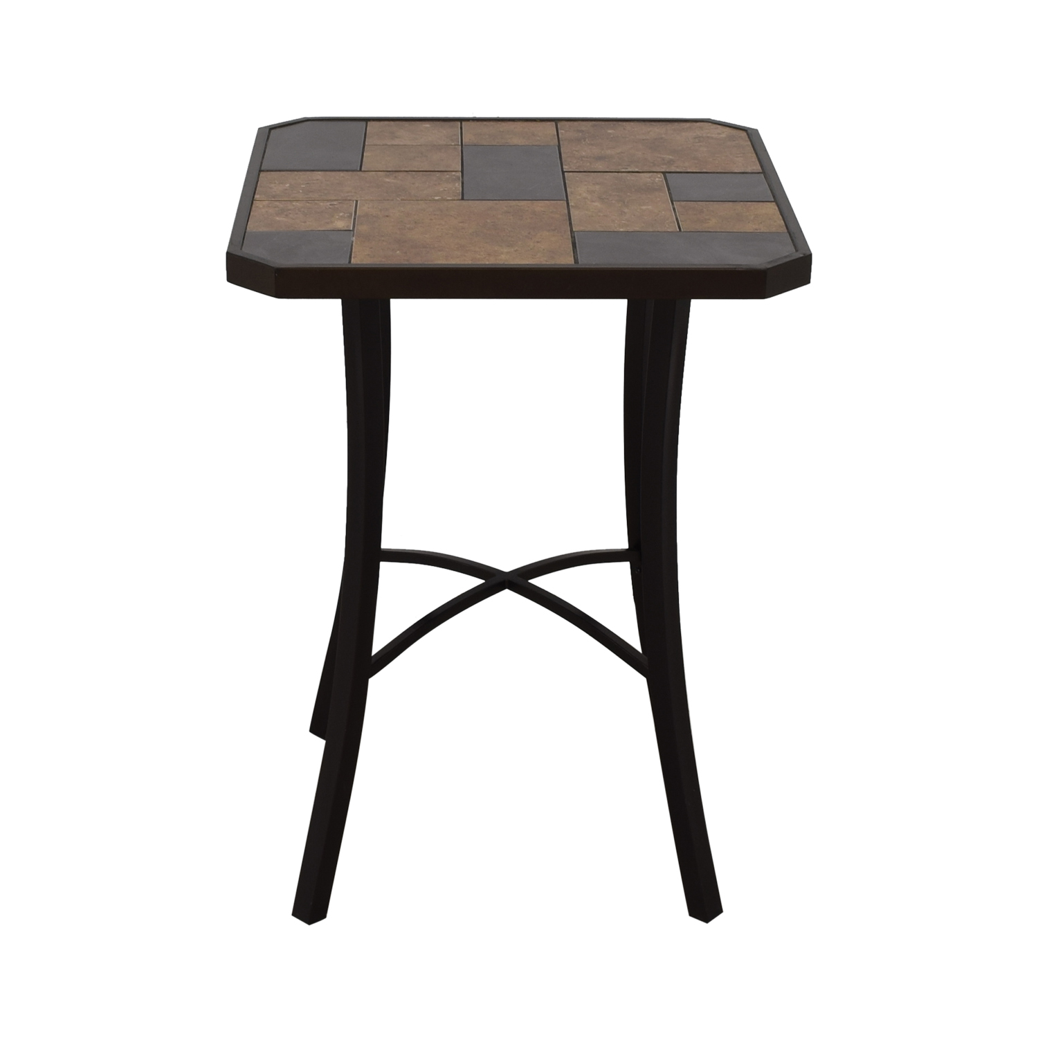 High-Top Ceramic Tile Table nj