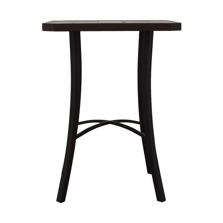 High-Top Ceramic Tile Table for sale