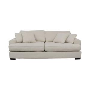 shop Macy's Macy's Ainsley White Two-Cushion Sofa online