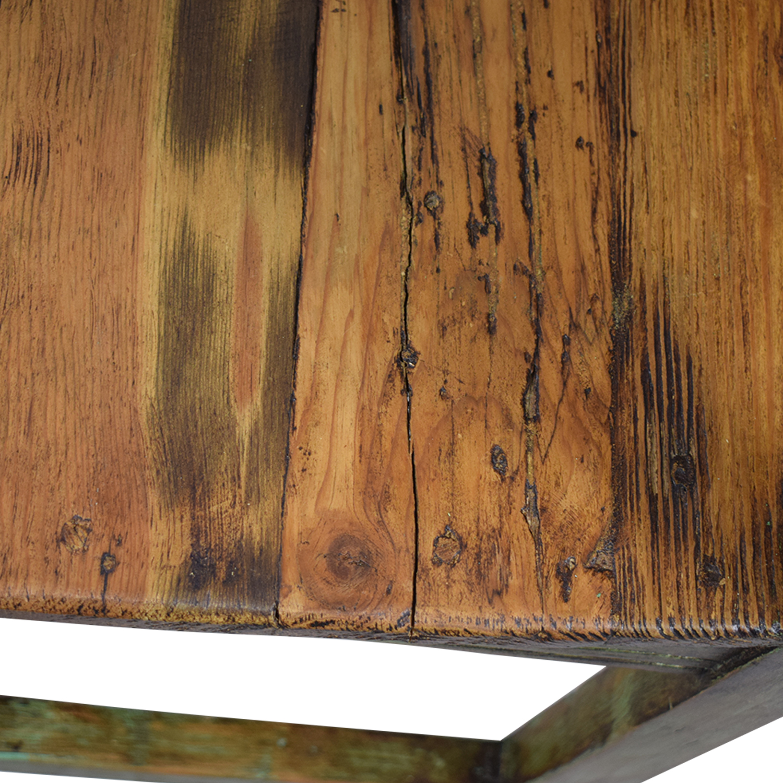 shop El Barzon Southwest Rustic Recycled Wood Dining Set El Barzon Tables