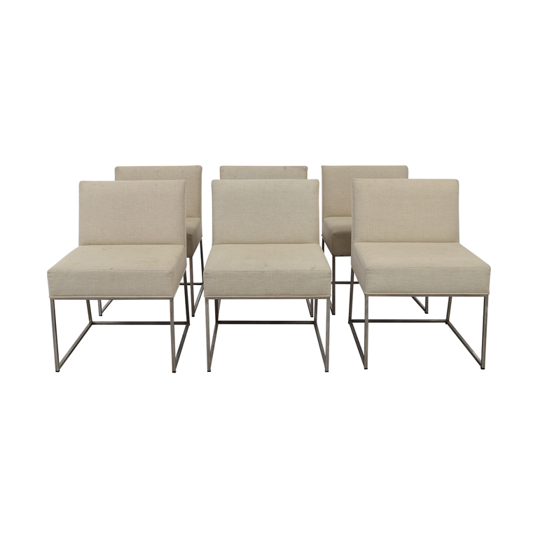 buy Kastiel Kastiel Beige Upholstered Dining Chairs online