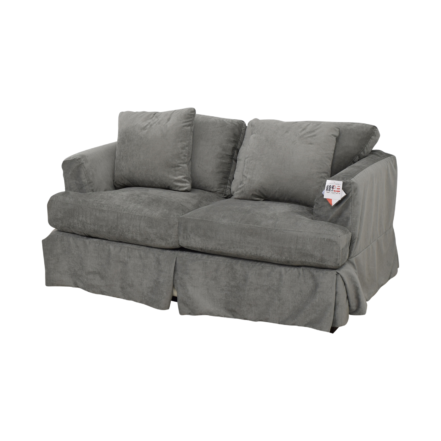 Wayfair Wayfair Grey Upholstered Two-Cushion Loveseat used