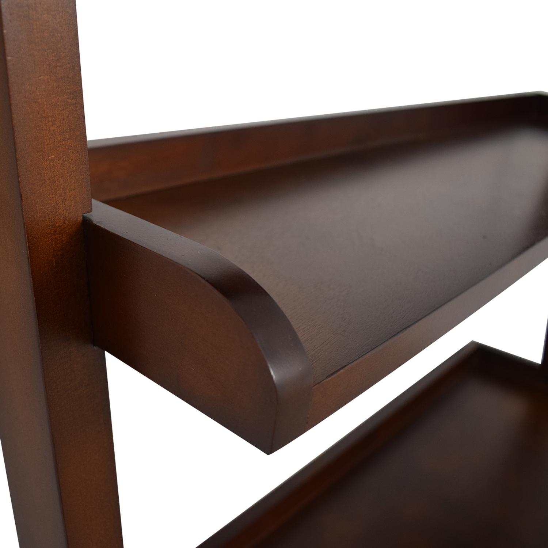 buy Wood Leaning Bookshelf