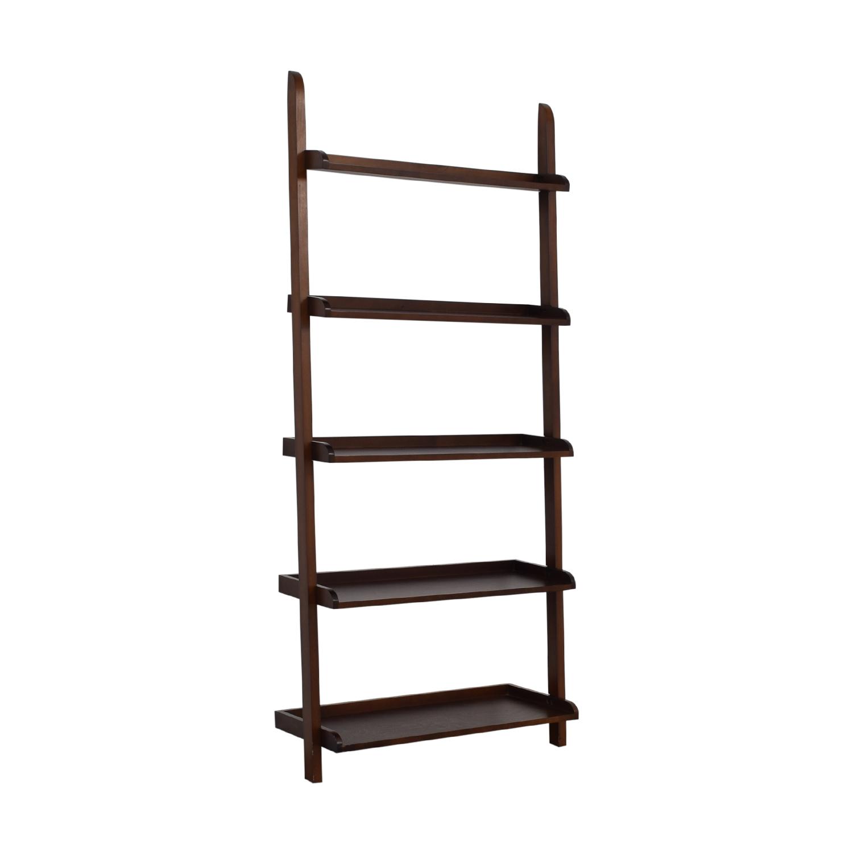 buy  Wood Leaning Bookshelf online