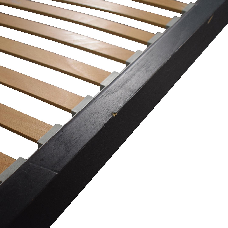 shop Flou FLOU Italia Brown Queen Platform Bed Frame online