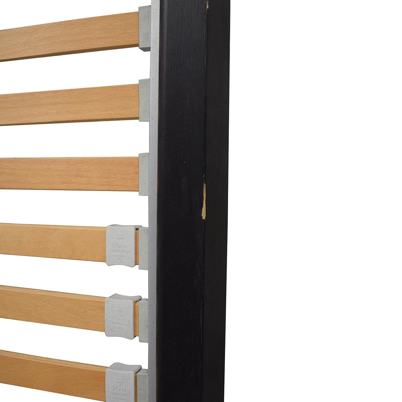 buy Flou FLOU Italia Brown Queen Platform Bed Frame online