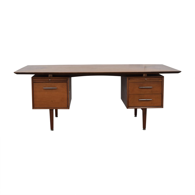 buy Mid Century Modern Desk  Home Office Desks