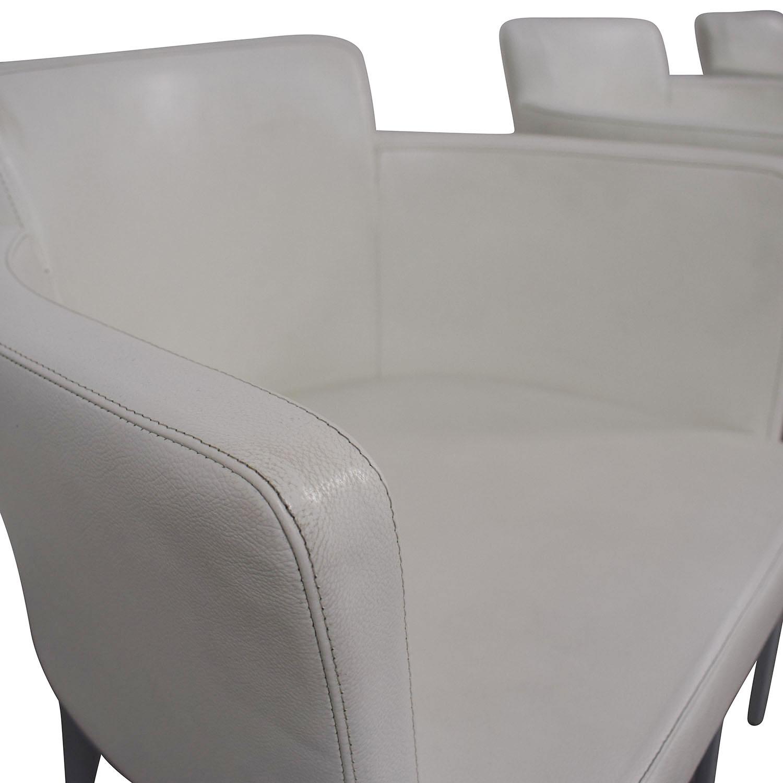 Cassina Cassina Ariane White Dining Chairs