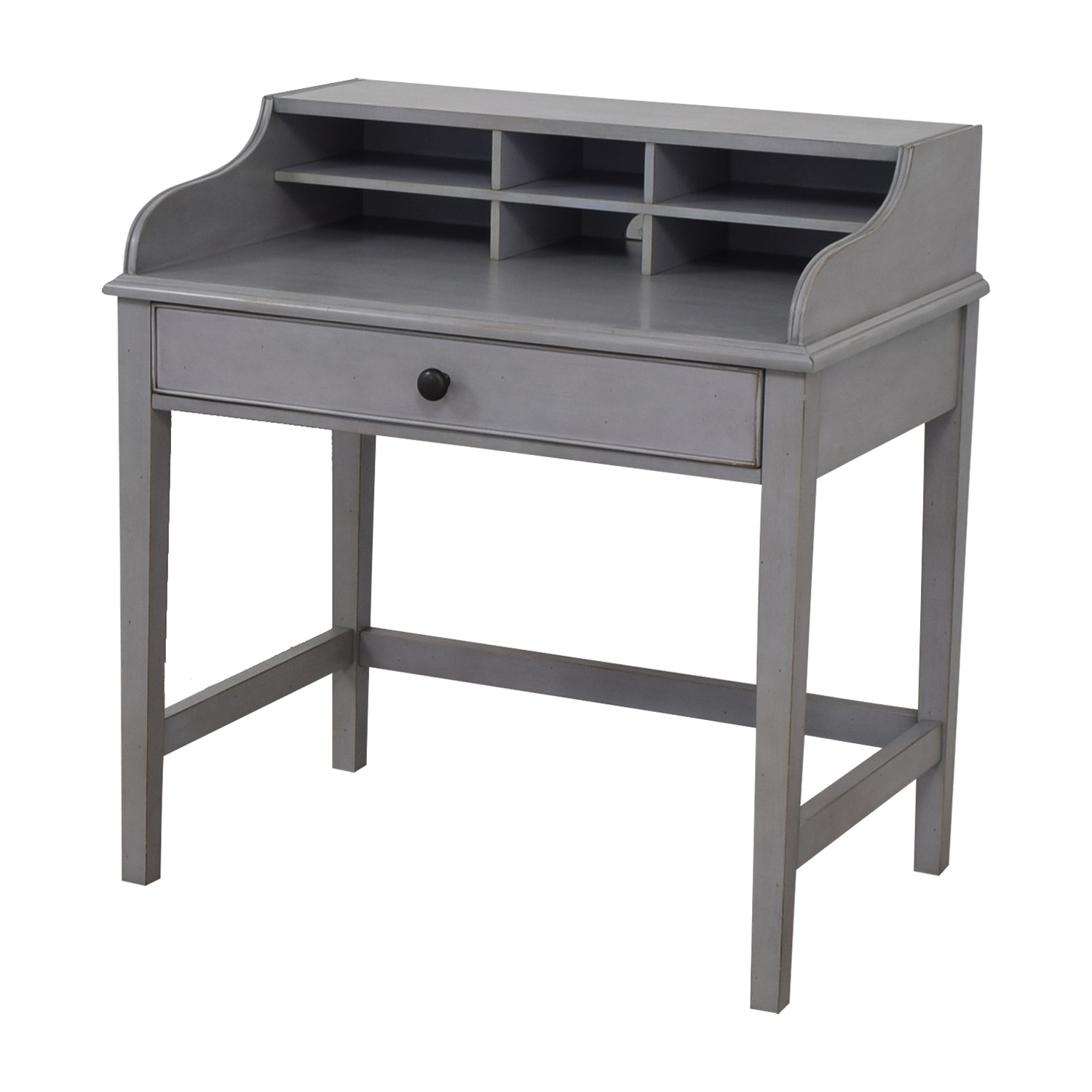 Pottery Barn Pottery Barn Jacqueline Single Pull-out Tray Grey Desk Tables