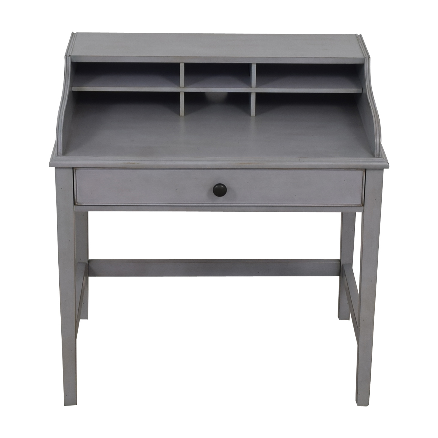 Pottery Barn Pottery Barn Jacqueline Single Pull-out Tray Grey Desk used