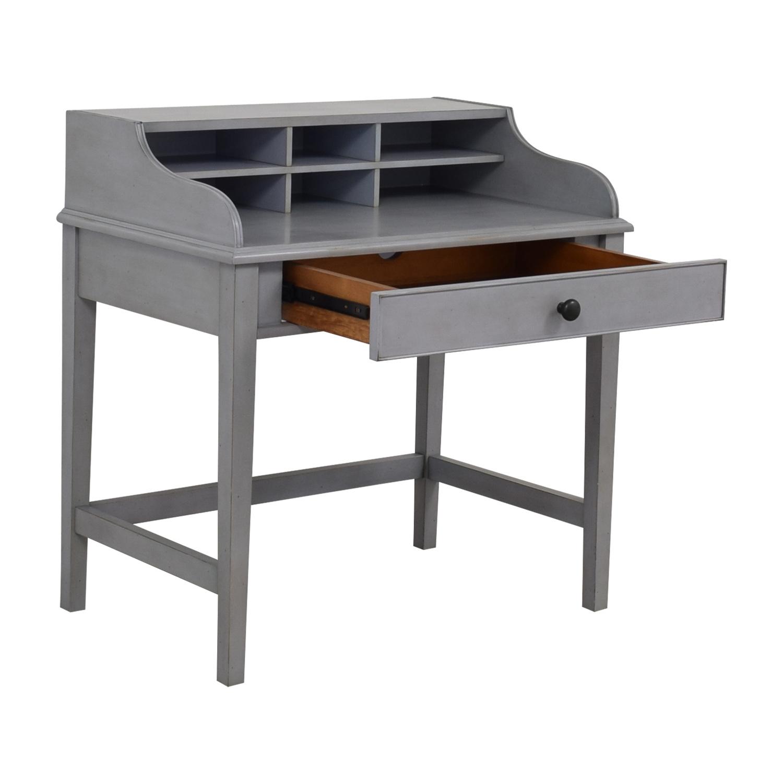 Pottery Barn Pottery Barn Jacqueline Single Pull-out Tray Grey Desk nj