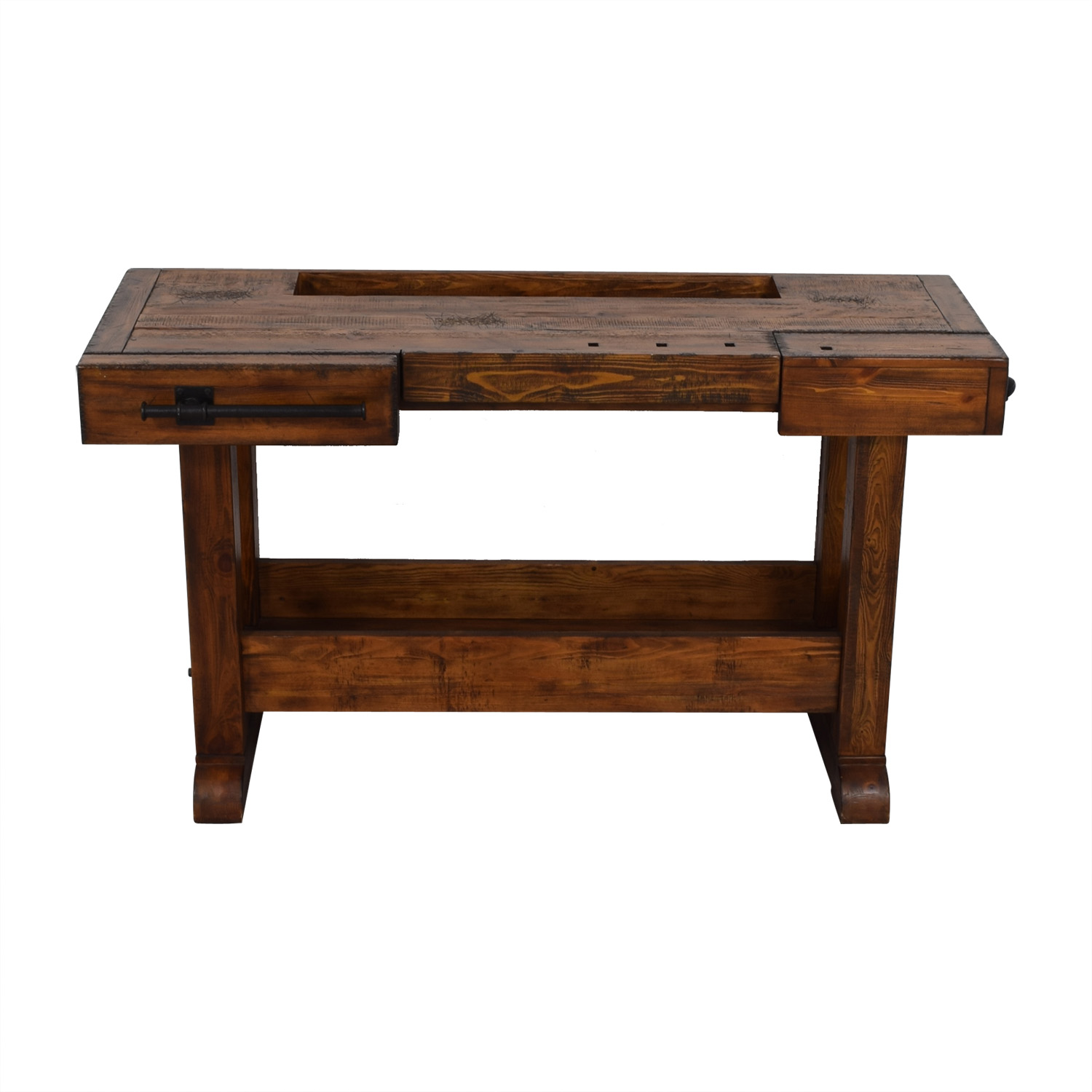 Pottery Barn Rustic Coffee Table.89 Off Pottery Barn Pottery Barn Markham Console Bar Tables