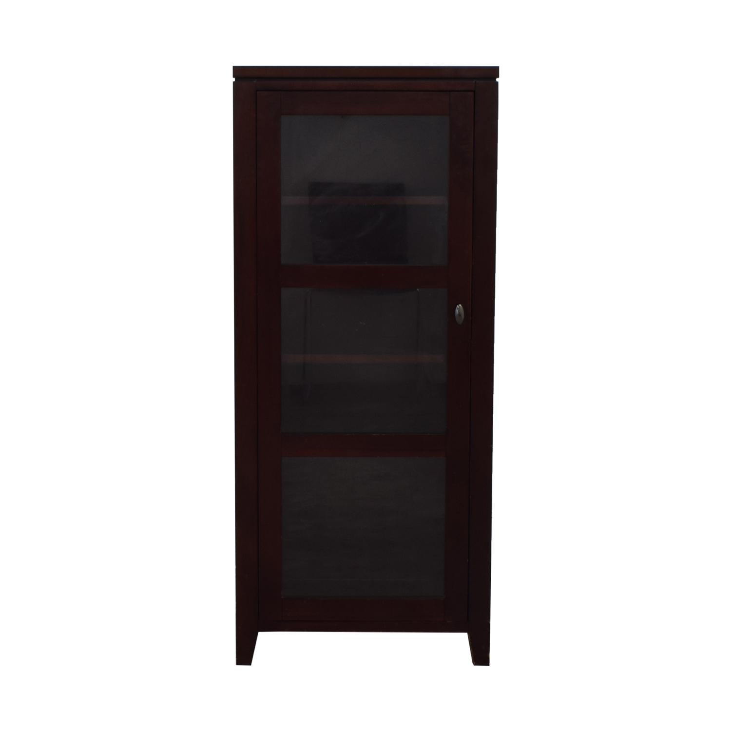 Crate & Barrel Kingston Tall Cabinet sale