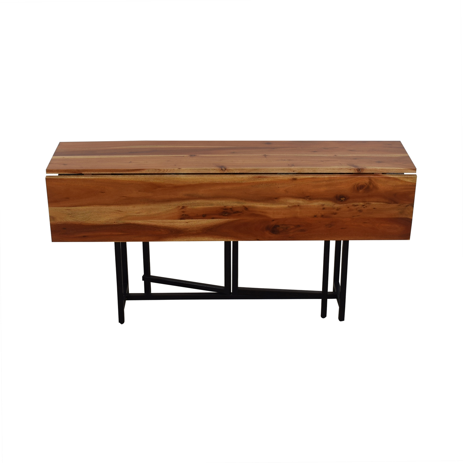 shop Crate & Barrel Crate & Barrel Origami Drop Leaf Rectangular Dining Table online