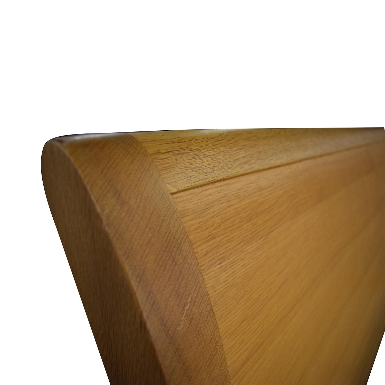 buy Bloomingdale's Beechwood King Size Platform Bed Bloomingdale's Bed Frames