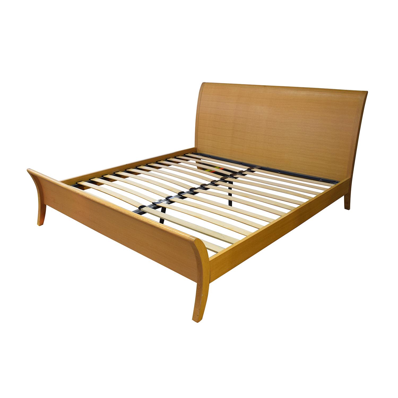 shop Bloomingdale's Beechwood King Size Platform Bed Bloomingdale's Beds