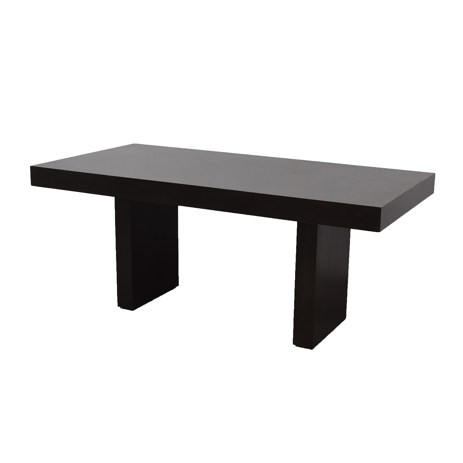 89% OFF - West Elm West Elm Hayden Black Dining Table / Tables