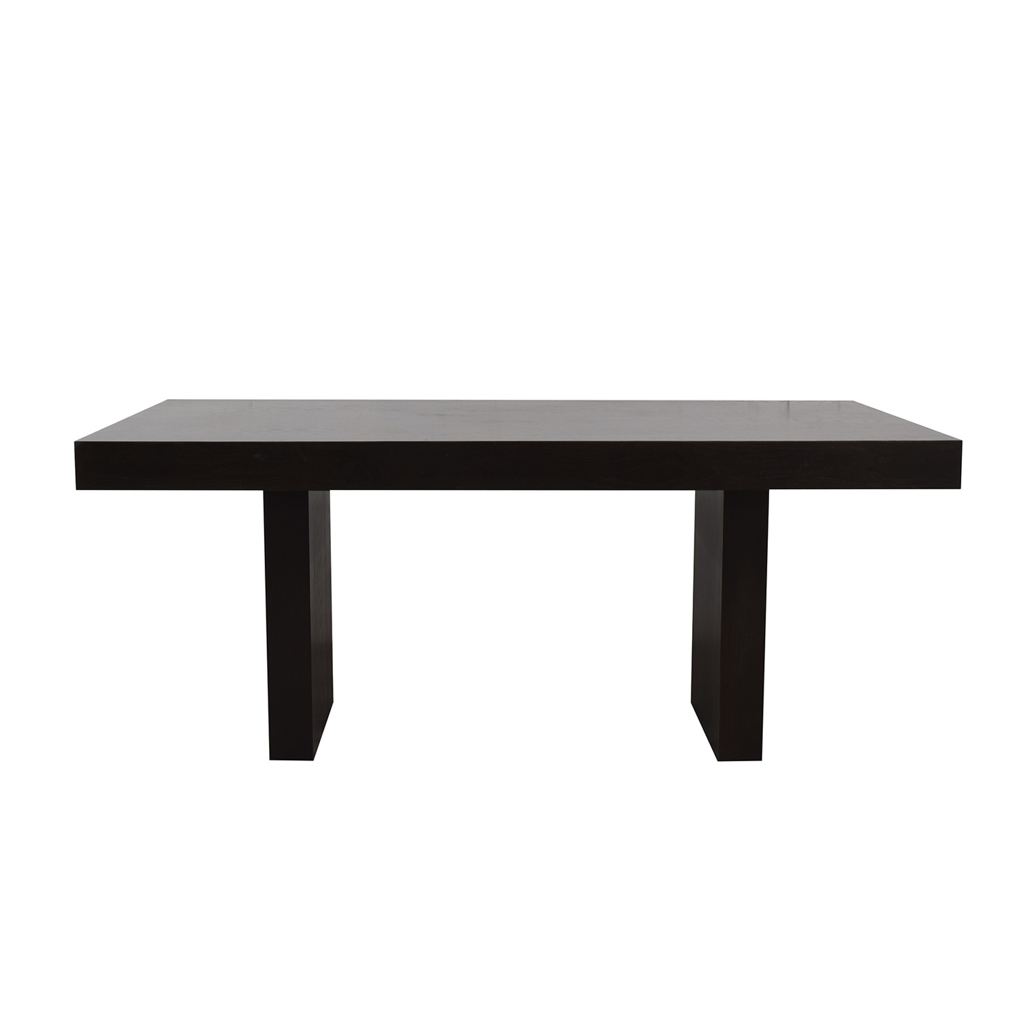 West Elm West Elm Hayden Black Dining Table discount