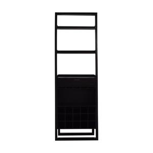 shop Crate & Barrel Crate & Barrel Brown Leaning Bar Bookcase online