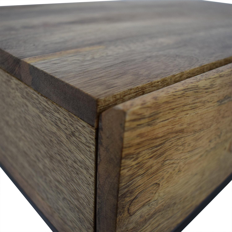 West Elm West Elm Industrial Storage Mini Desk for sale