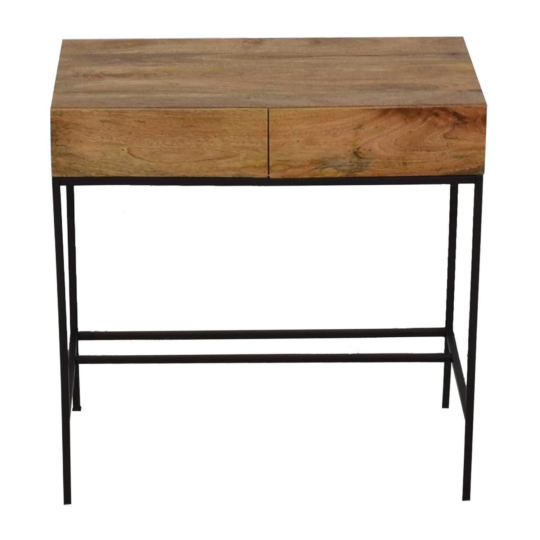 West Elm West Elm Industrial Storage Mini Desk on sale