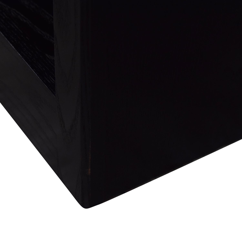 Crate & Barrel Crate & Barrel Black Bookcase price