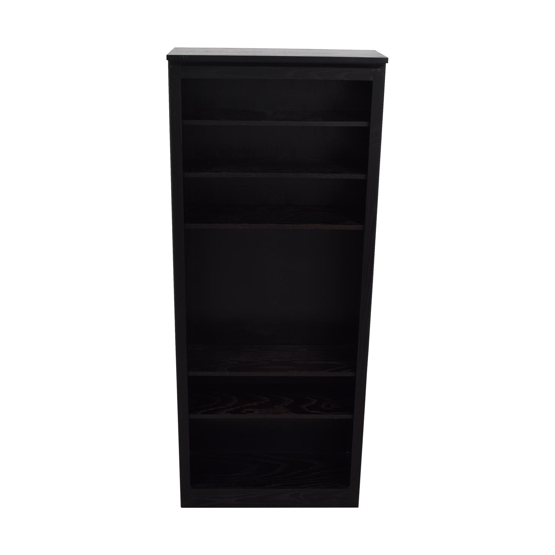 Crate & Barrel Crate & Barrel Black Bookcase on sale