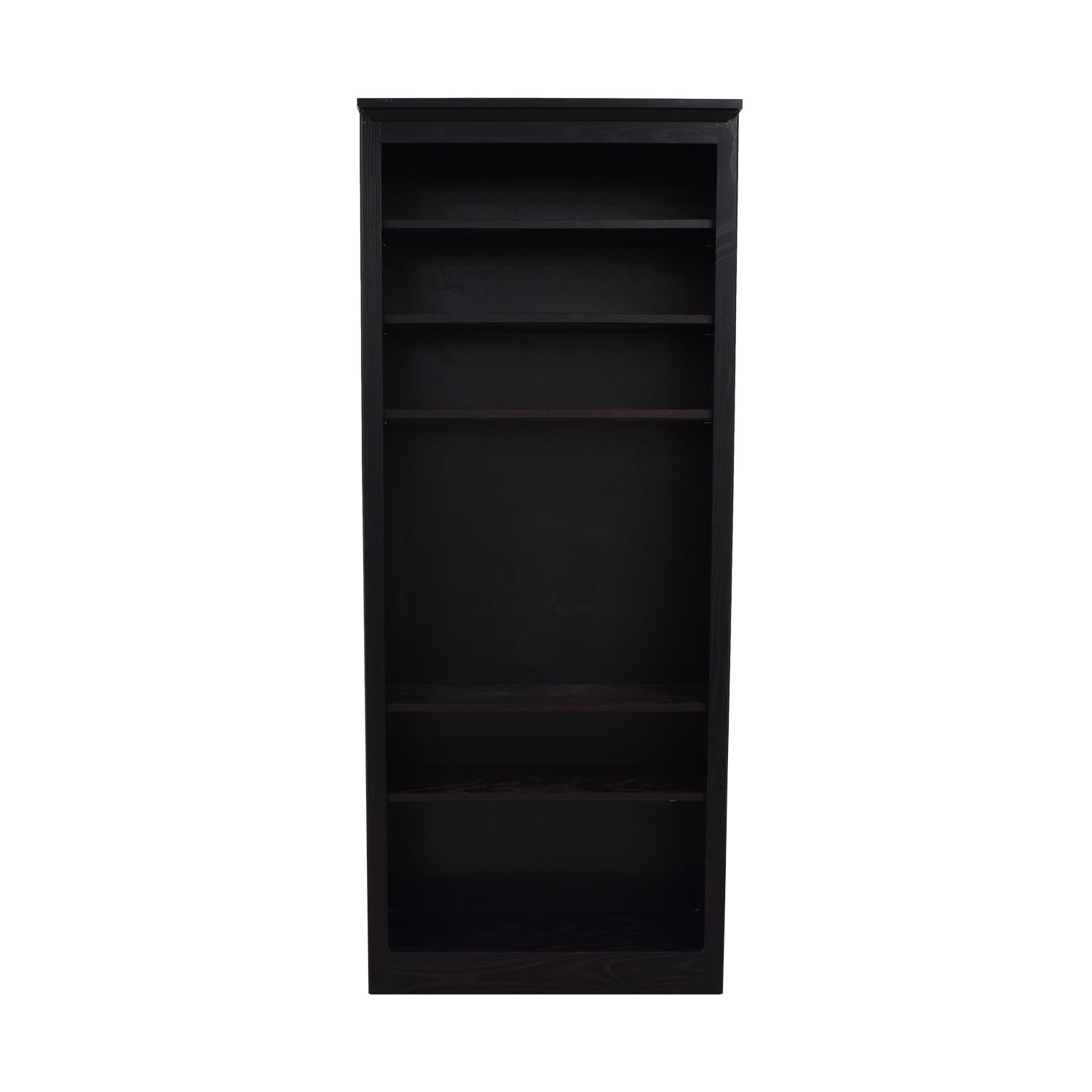 Crate & Barrel Crate & Barrel Black Bookcase second hand