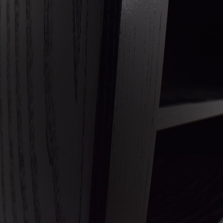 Crate & Barrel Crate & Barrel Black Bookcase Storage
