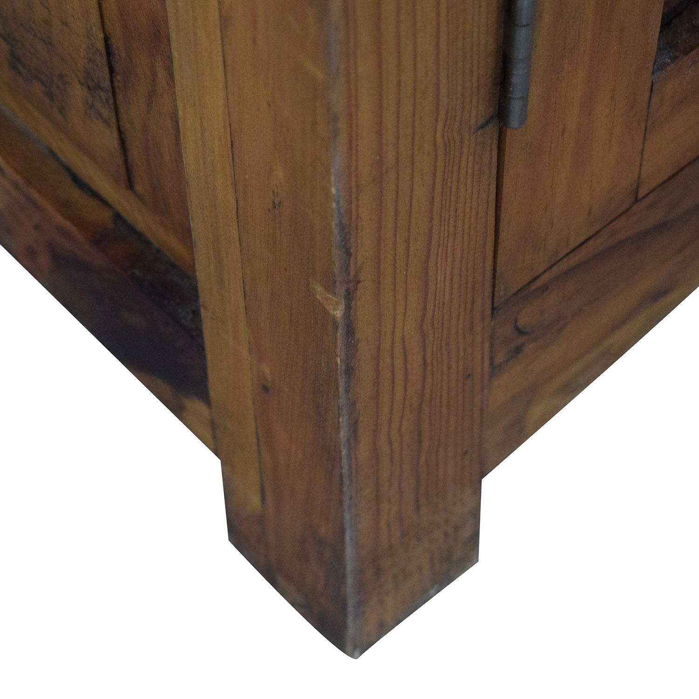Dovetailed Wood Wardrobe Armoire / Storage