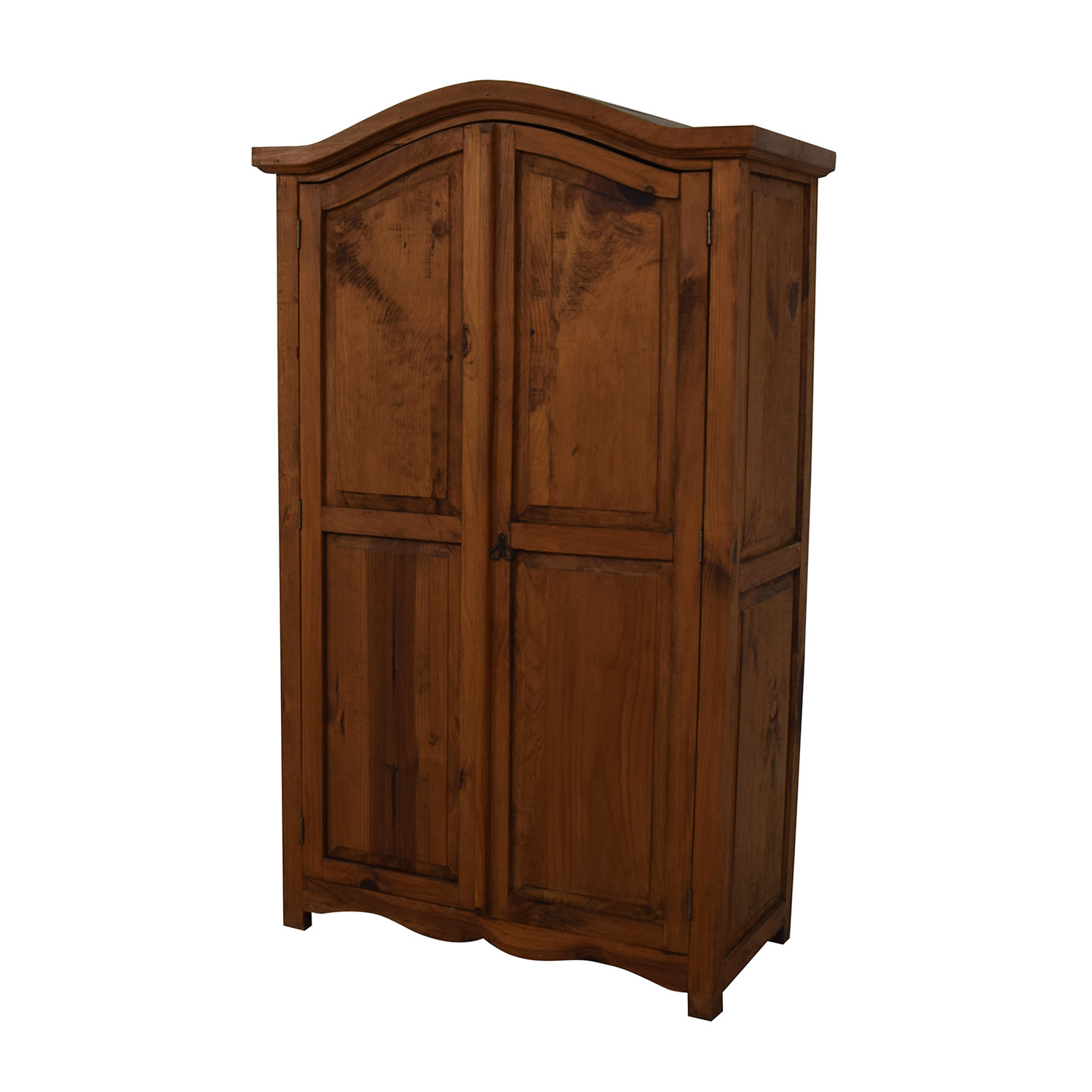 buy  Dovetailed Wood Wardrobe Armoire online