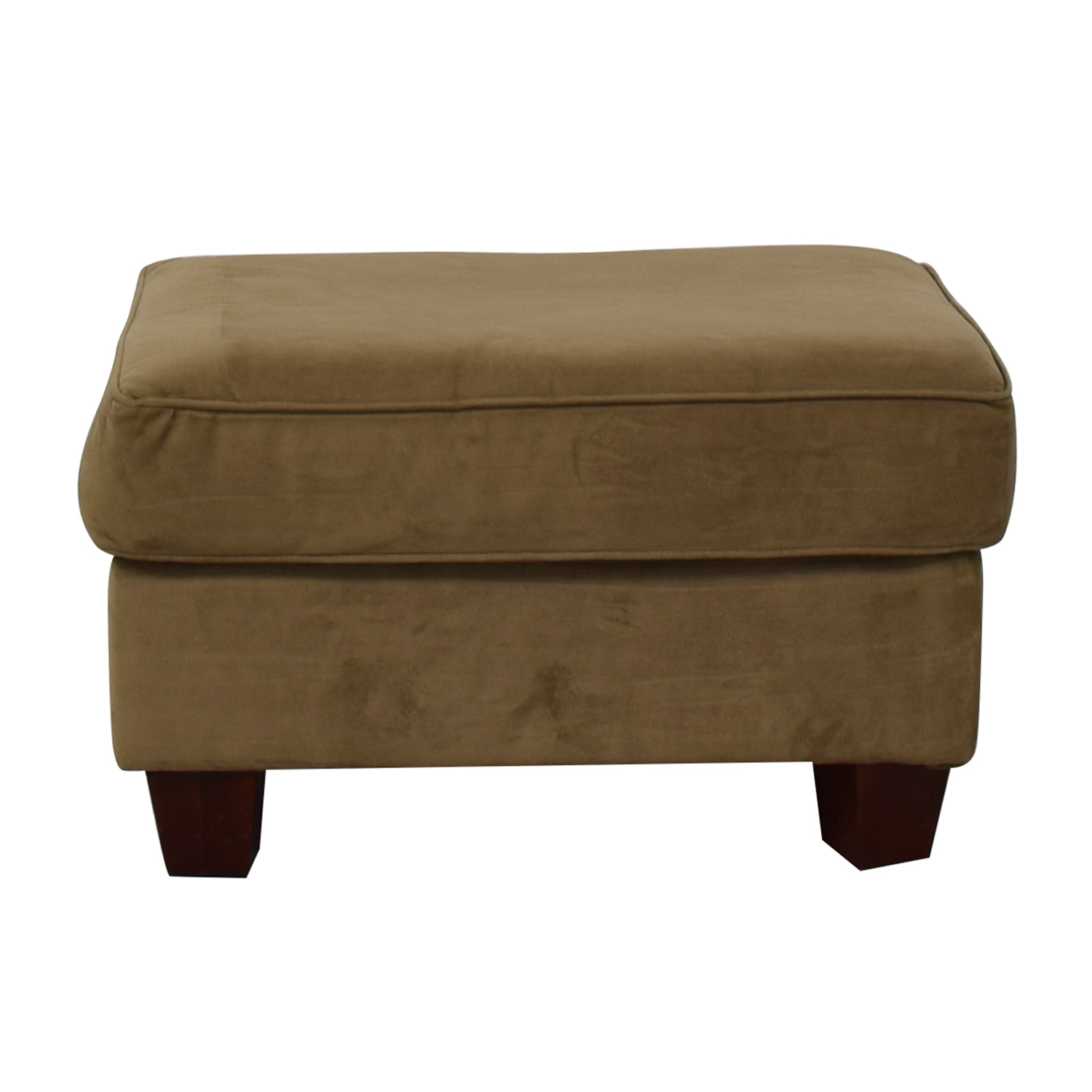 Bob's Discount Furniture Bob's Discount Furniture Bella Tan Ottoman second hand