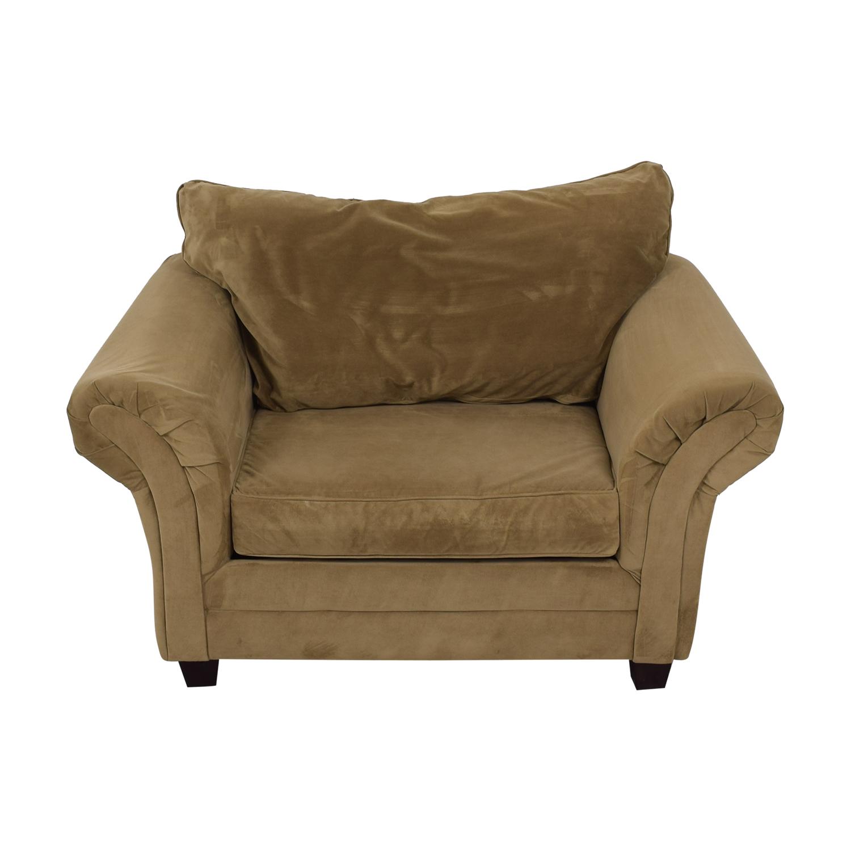 Bob's Discount Furniture Bella Tan Accent Chair sale