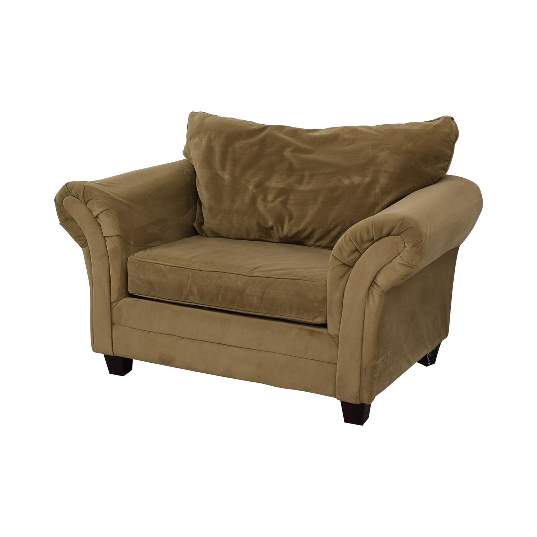 buy Bob's Discount Furniture Bob's Discount Furniture Bella Tan Accent Chair online