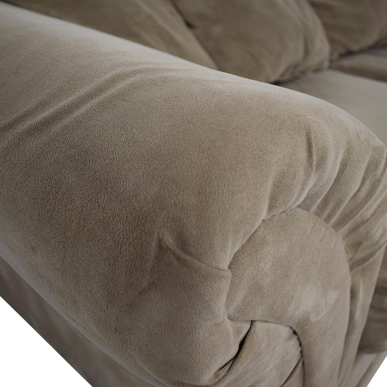 Bob's Discount Furniture Bob's Discount Furniture Bella Tan Single Cushion Sofa price