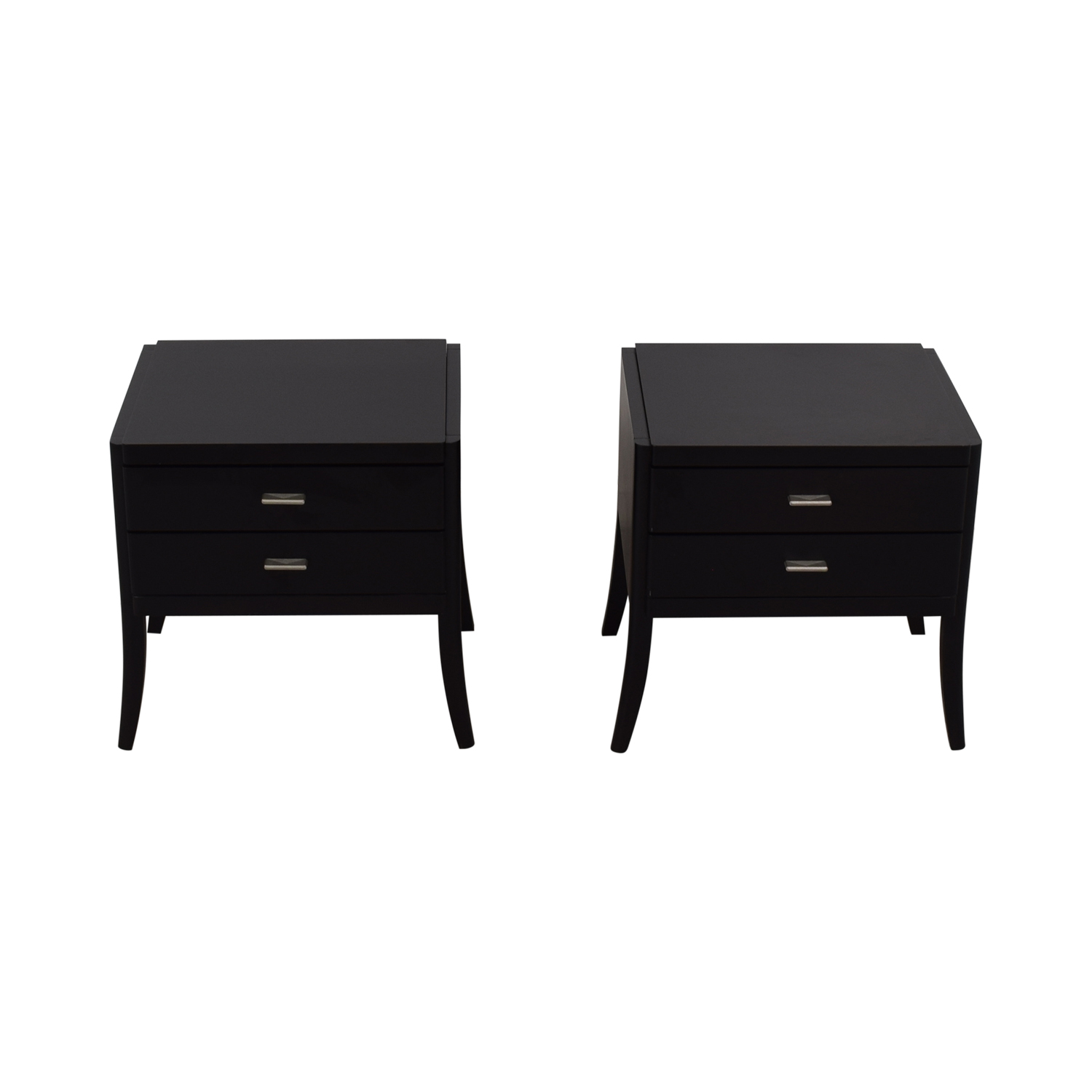 80 Off Baronet Baronet Black End Tables Tables