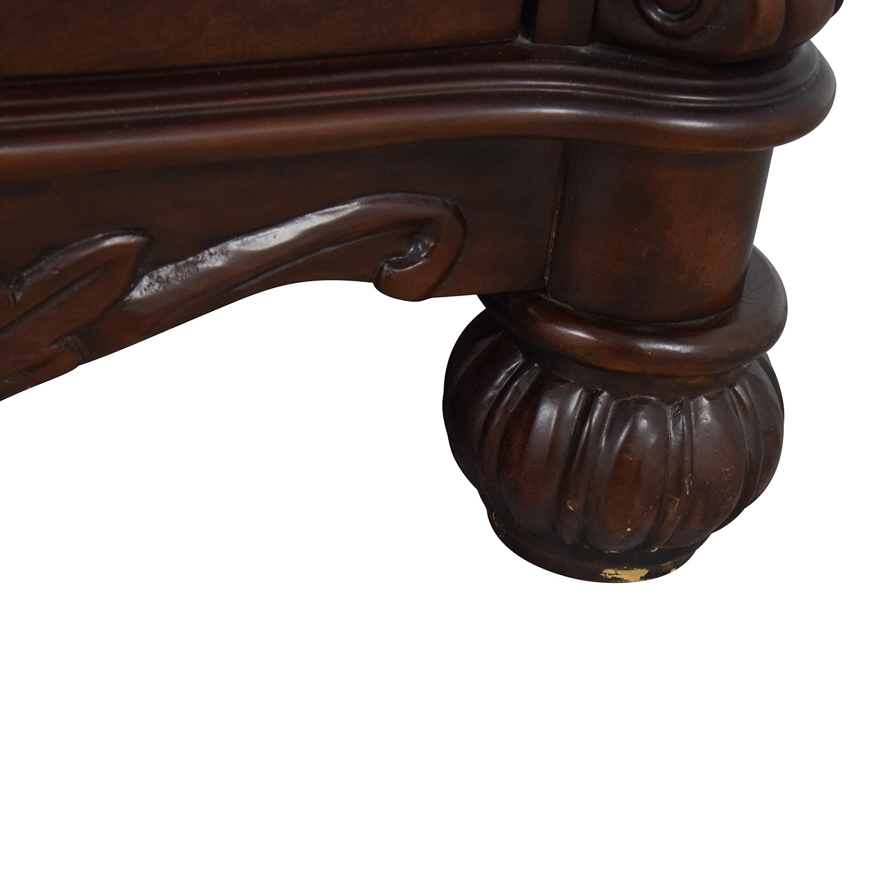 buy  Dark Brown Tall Six Drawer Dresser online