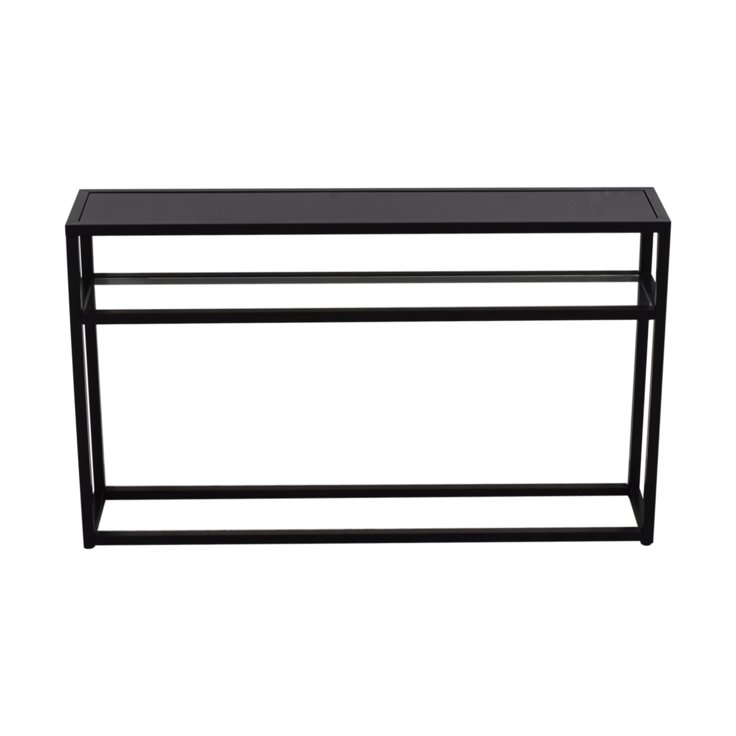 Black Console Table second hand