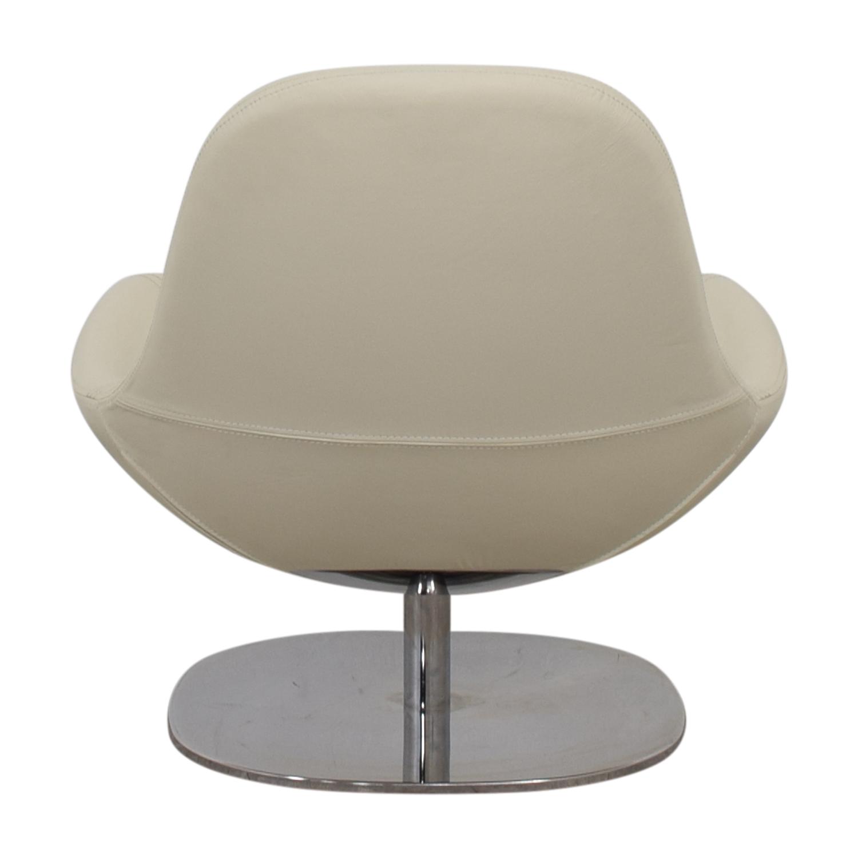 buy IKEA IKEA Tirup White Leather Swivel Chair online