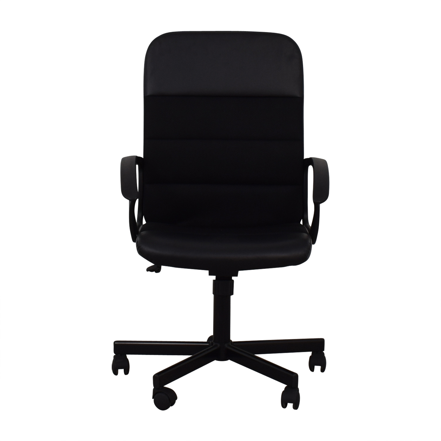 IKEA IKEA Renberget Black Office Chairs nyc