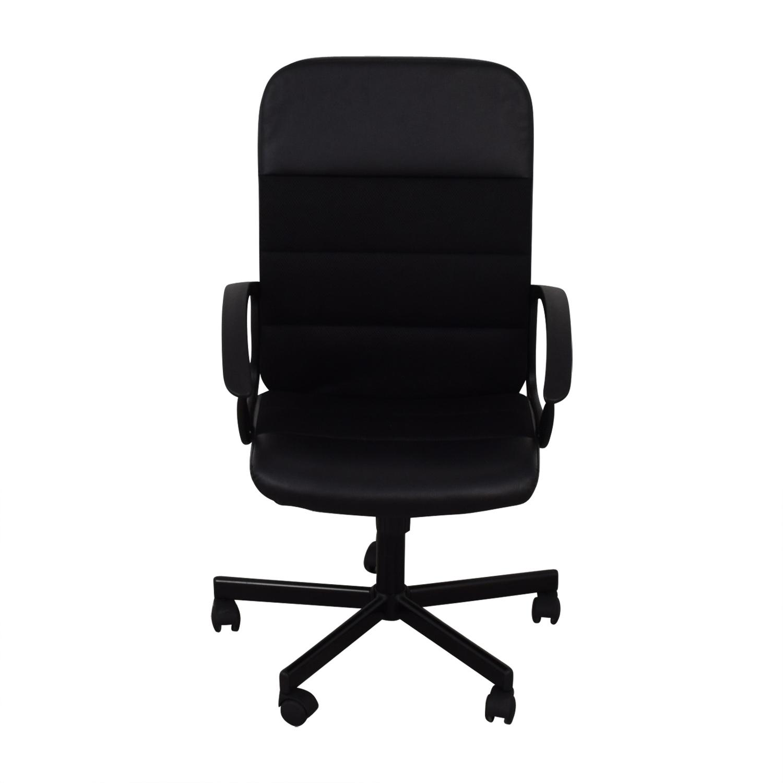 IKEA IKEA Renberget Black Office Chairs for sale