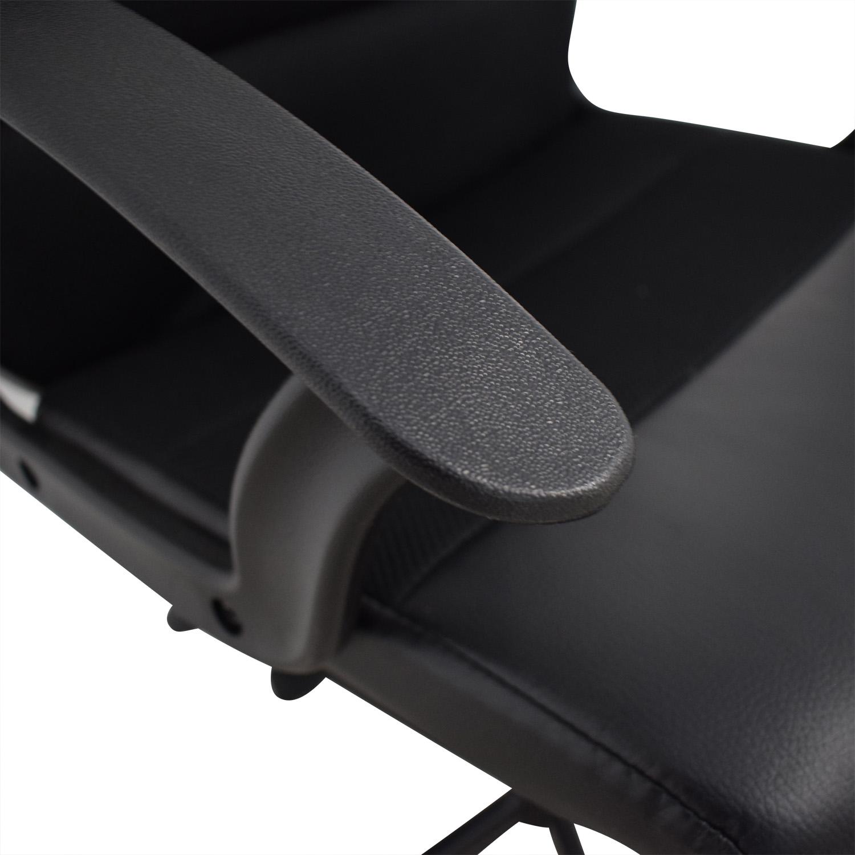 IKEA IKEA Renberget Black Office Chairs used