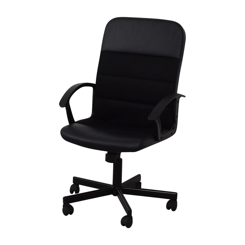 IKEA IKEA Renberget Black Office Chairs